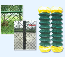 Chain Link Fencing Metal Open weave Ease of installation Chain link Fencing