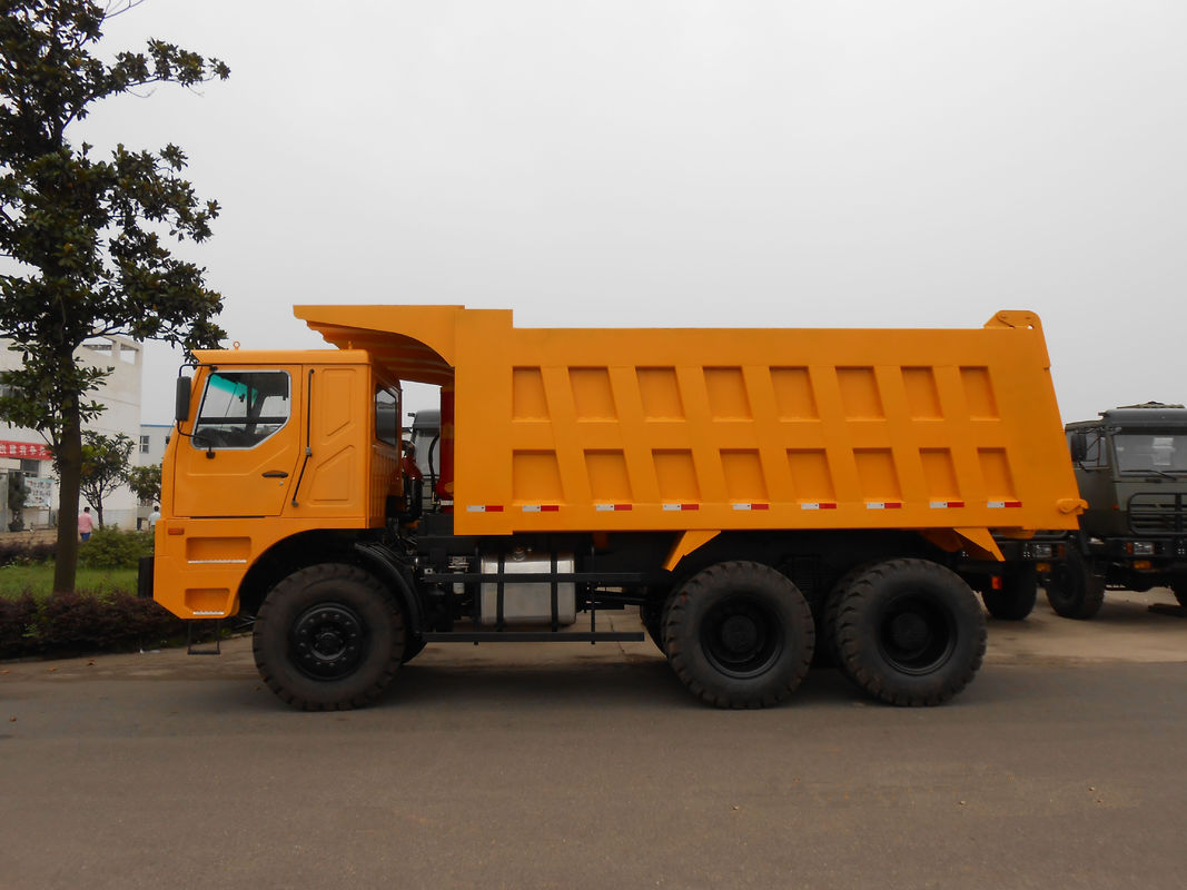 Transport Semi Trailer Mining Transporter With Dual Enclosed Door